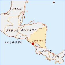 Nicaragua-Map
